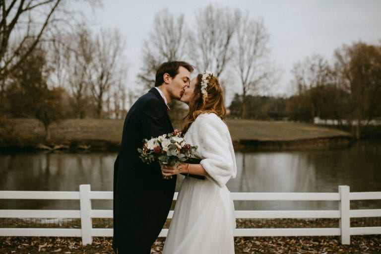 photographies mariage hiver